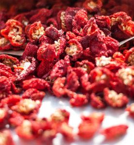 sušené chilli