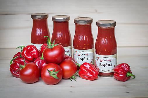 rajčili, rajčinová čili omáčka